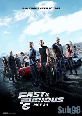دانلود زیرنویس فارسی فیلم Fast And Furious 6 2013